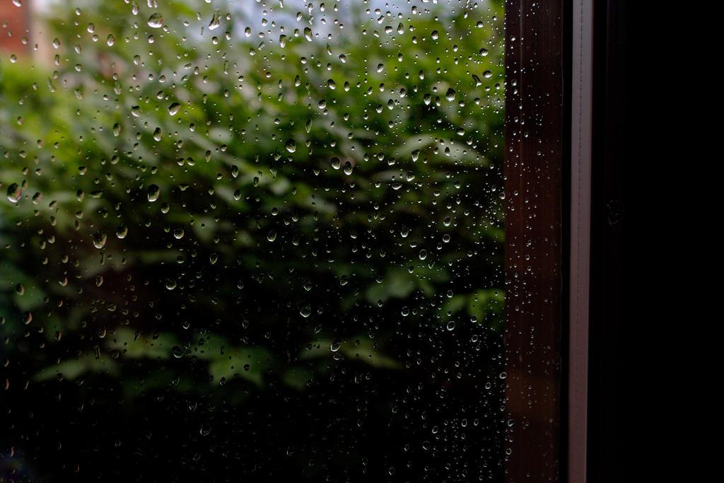 Rain Drops on Glass by Warfreaksis2