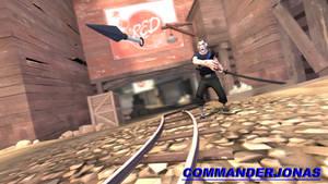TF2 Freak: Life Thief Knife Toss. by commanderjonas
