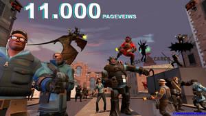 11.000 Page Veiws by commanderjonas