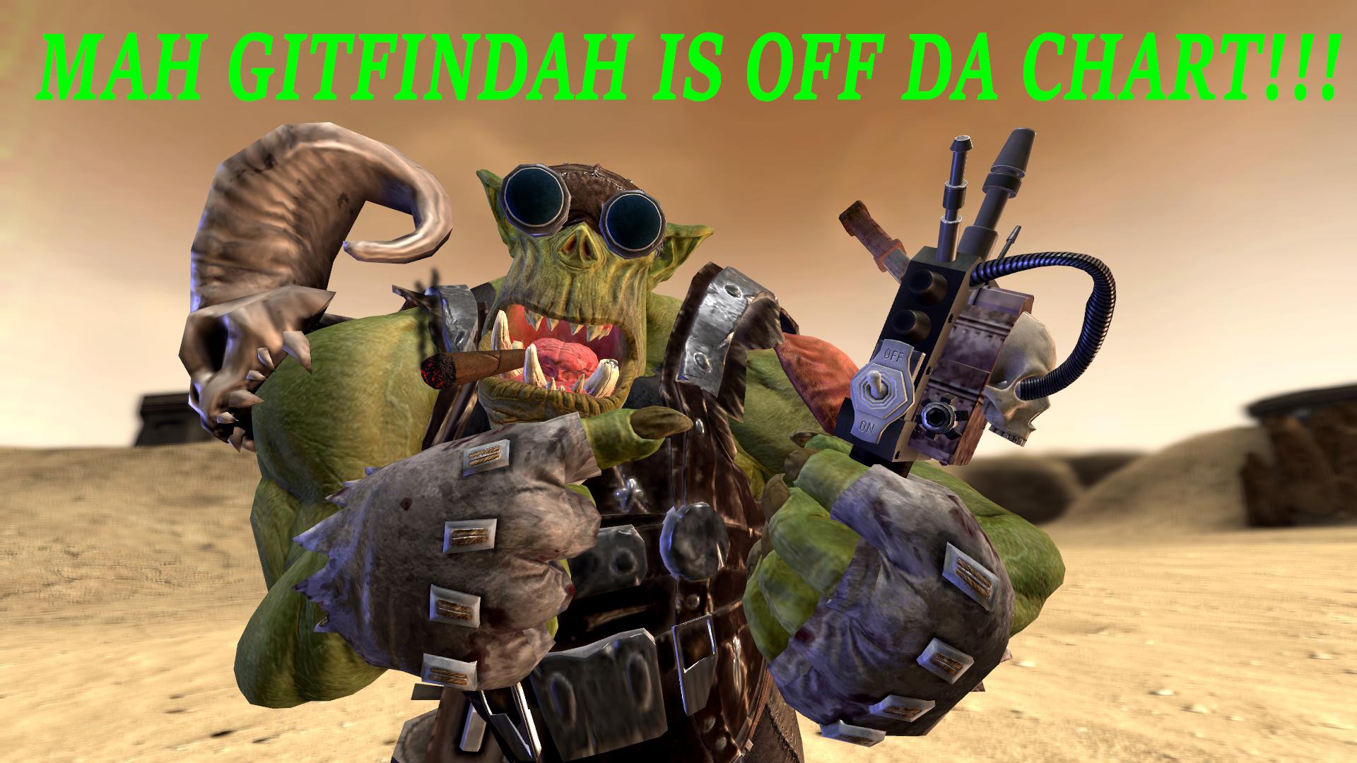 Warhammer 40K meme: Gitfandah by commanderjonas on DeviantArt