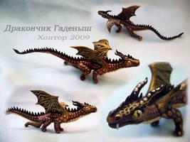 Little dragon by hontor