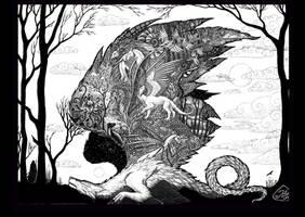 To kill a dragon - print