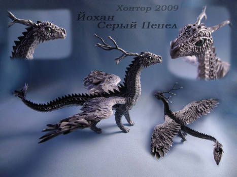 Ornamental dragon Johan by hontor