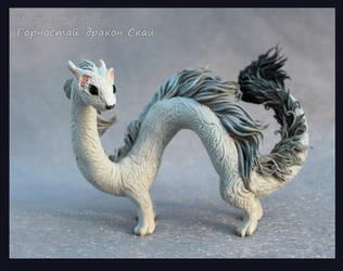 Ermine-Dragon Sky by hontor