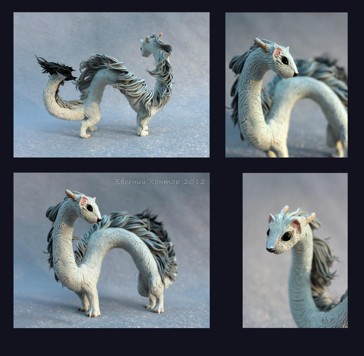 Ermine-Dragon by hontor