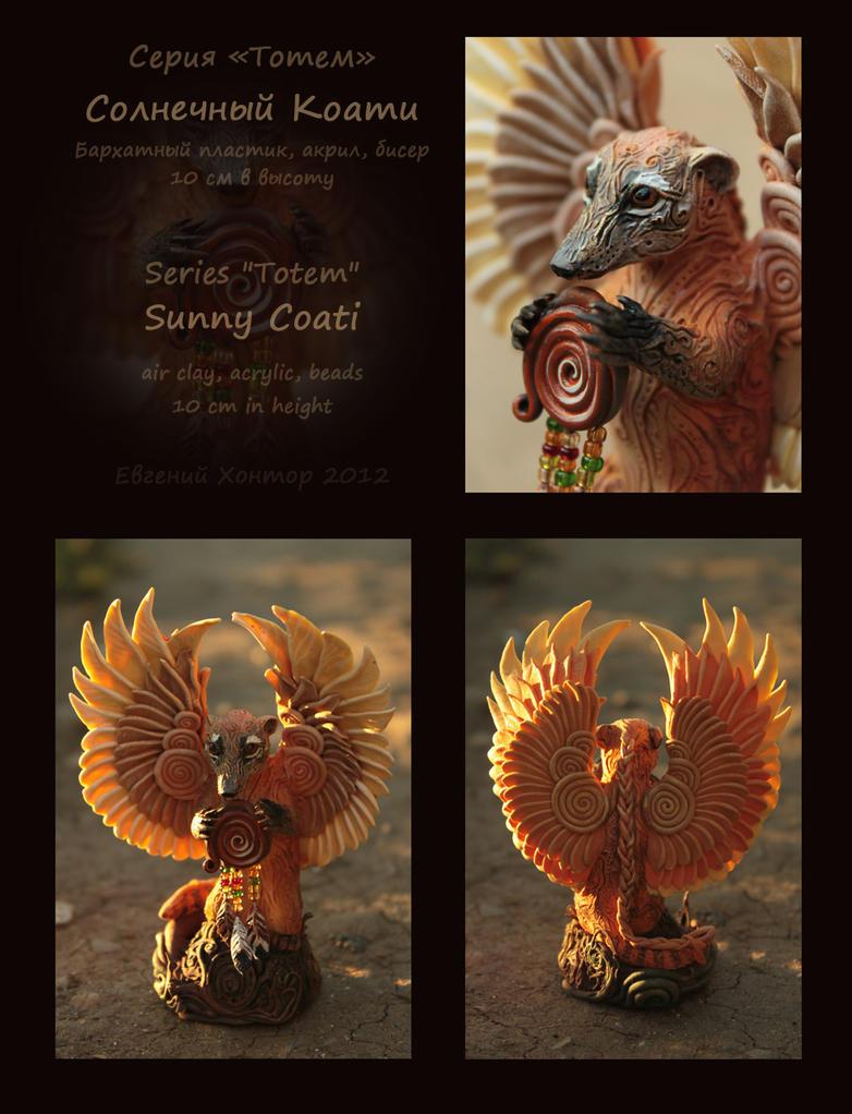 Sunny Coati by hontor