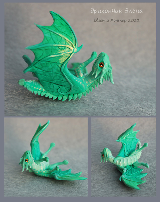 Dragon baby Elna - for sale by hontor