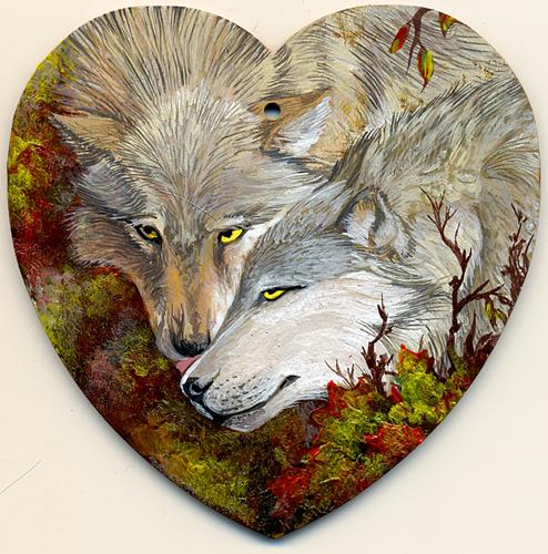 Wolf's Valentine by hontor
