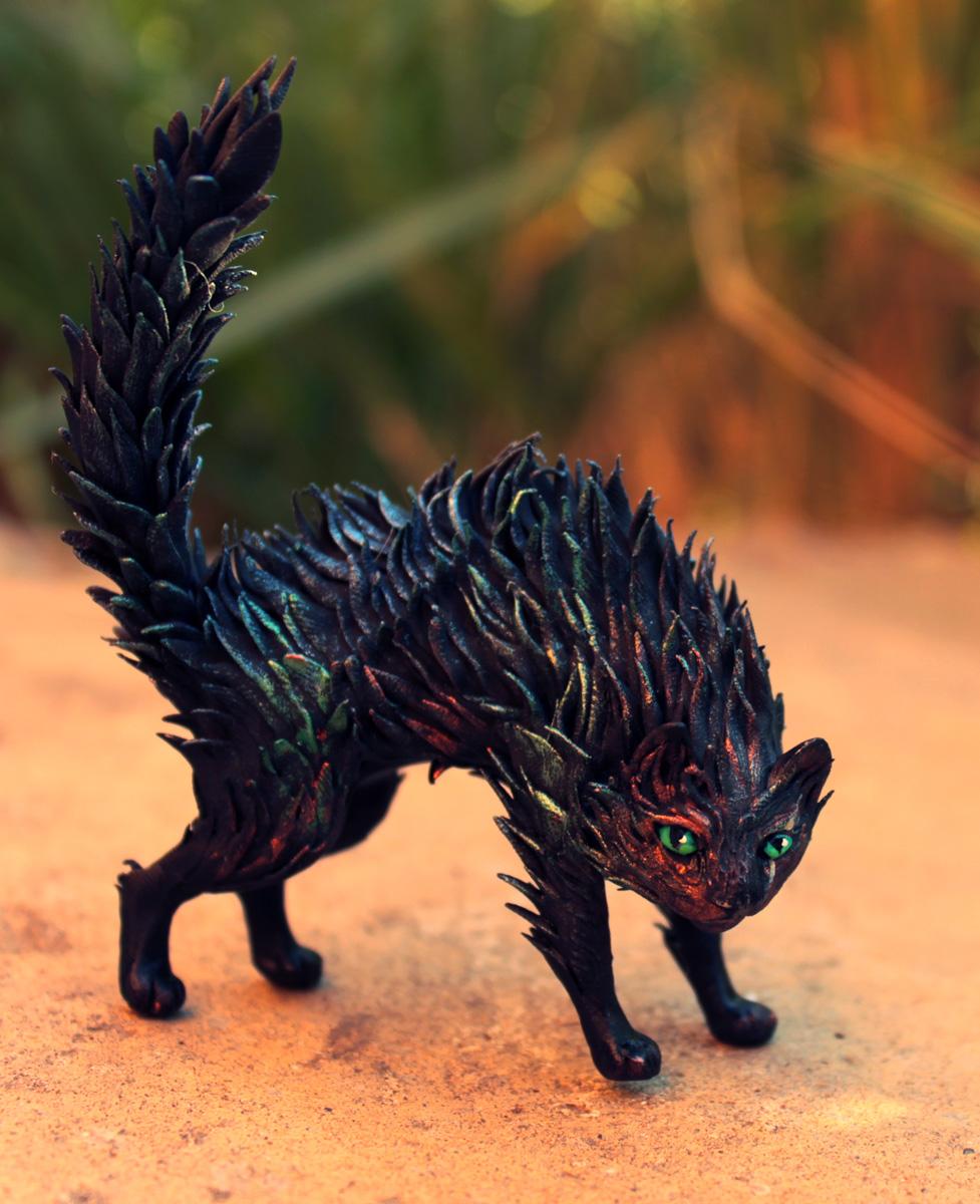 Dark Cat by hontor