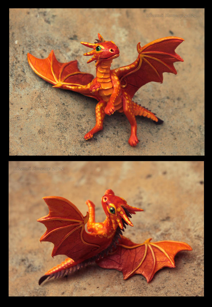 Dragon baby Saffron by hontor