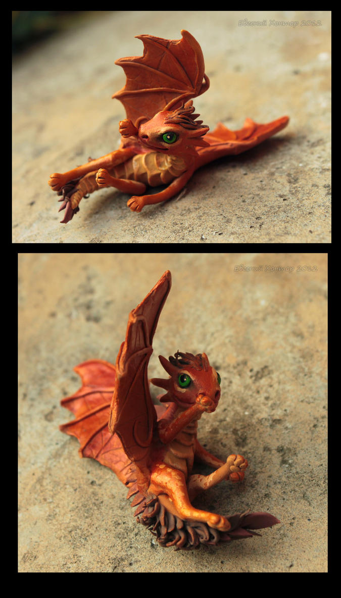Dragon baby Liska by hontor