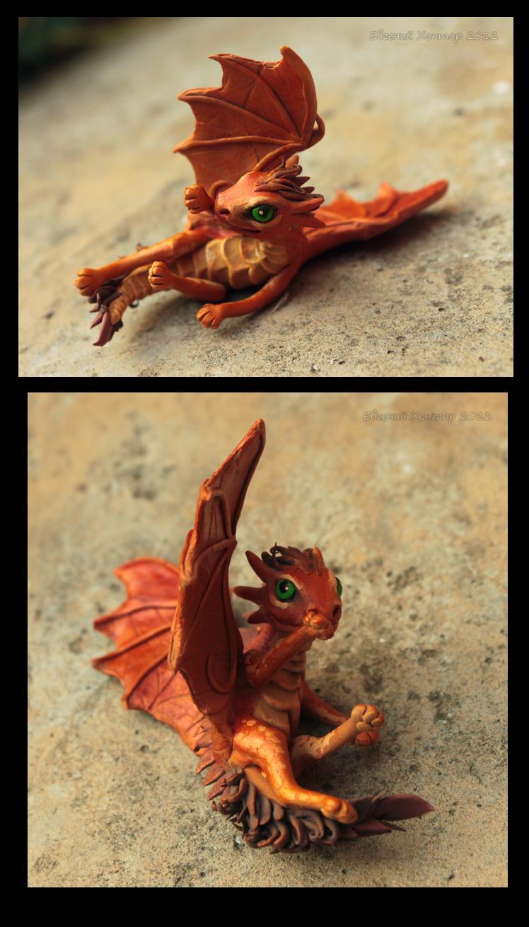 Dragon baby Liska by hontor