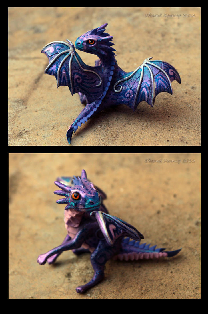 Dragon baby Barni by hontor