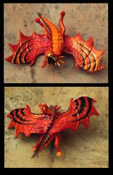 Dragon baby Tigra by hontor