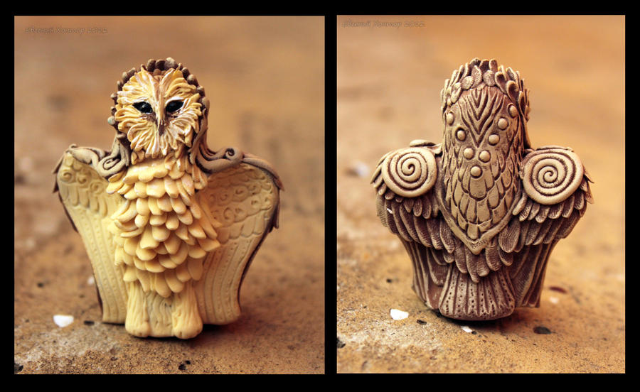 Altar Owl I by hontor