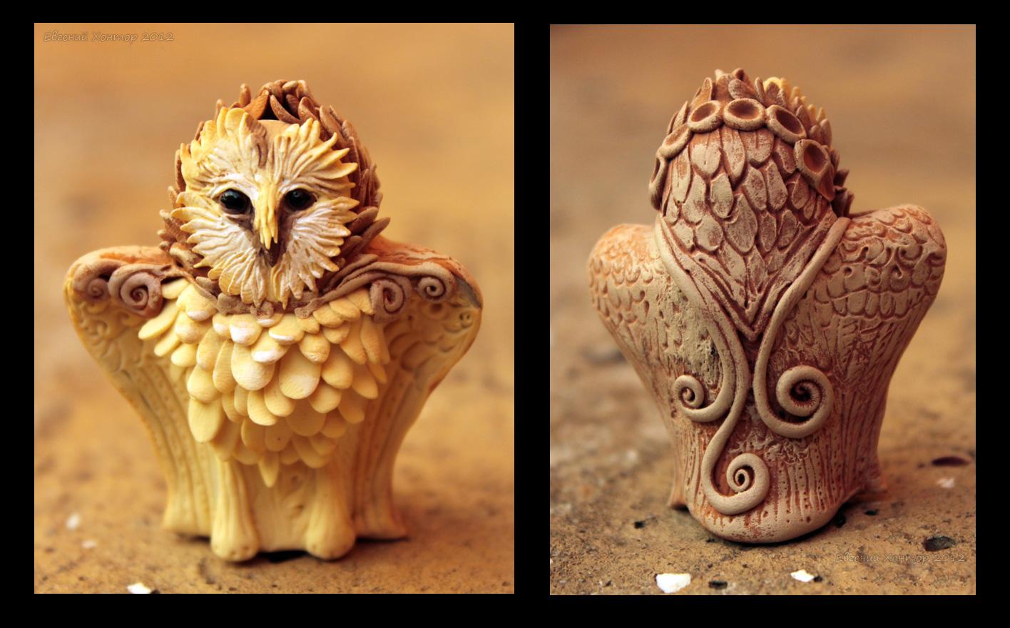 Altar Owl II by hontor