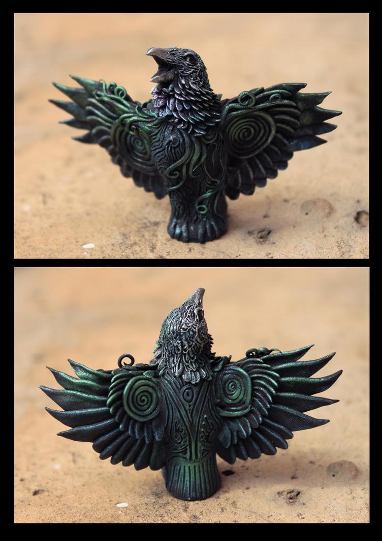 Altar Raven I by hontor