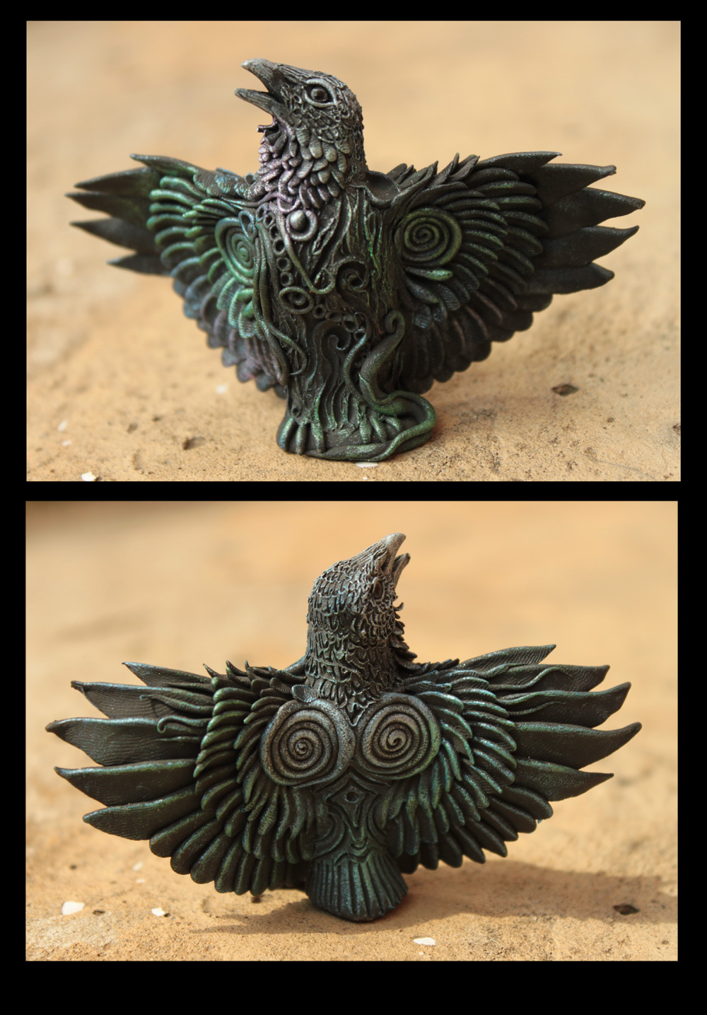 Altar Raven II by hontor