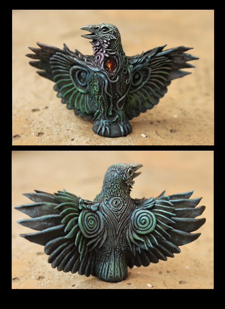 Altar Raven III by hontor