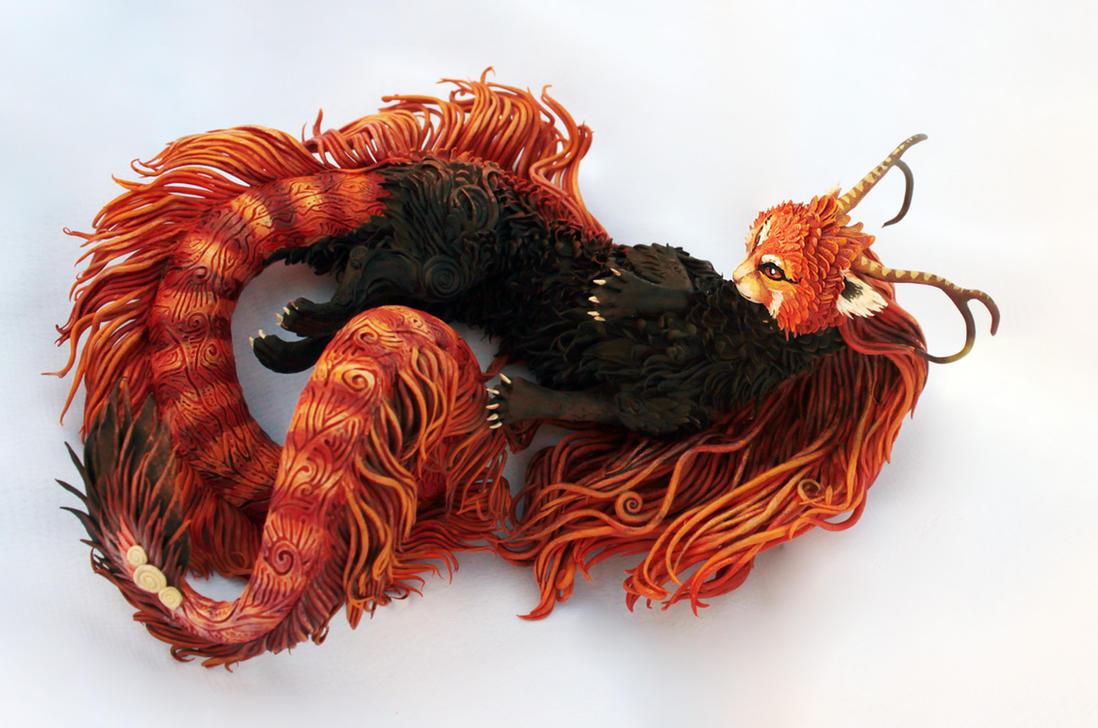 Fiery kitty I by hontor