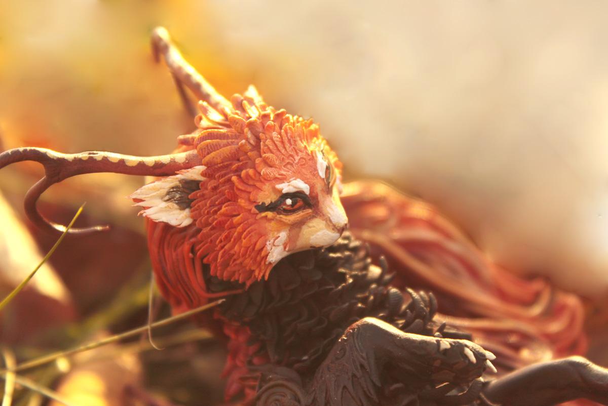 Fiery kitty II by hontor