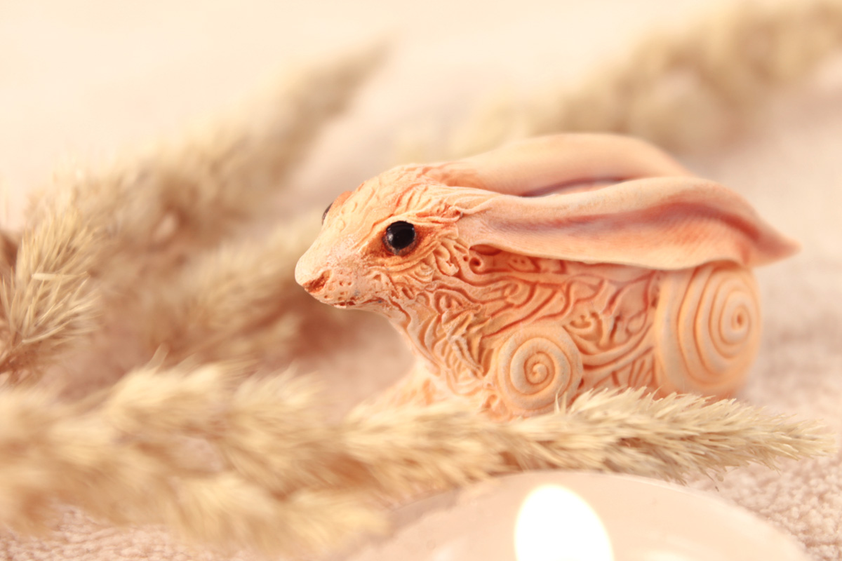 Rabbit totem by hontor