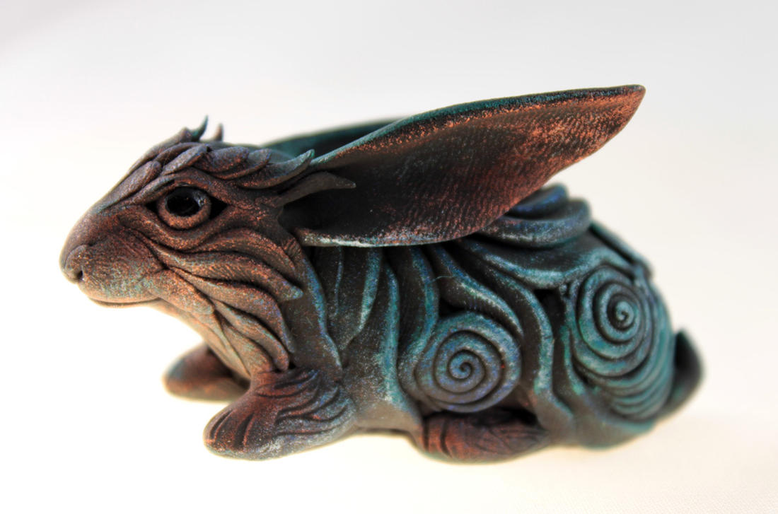 Black rabbit by hontor