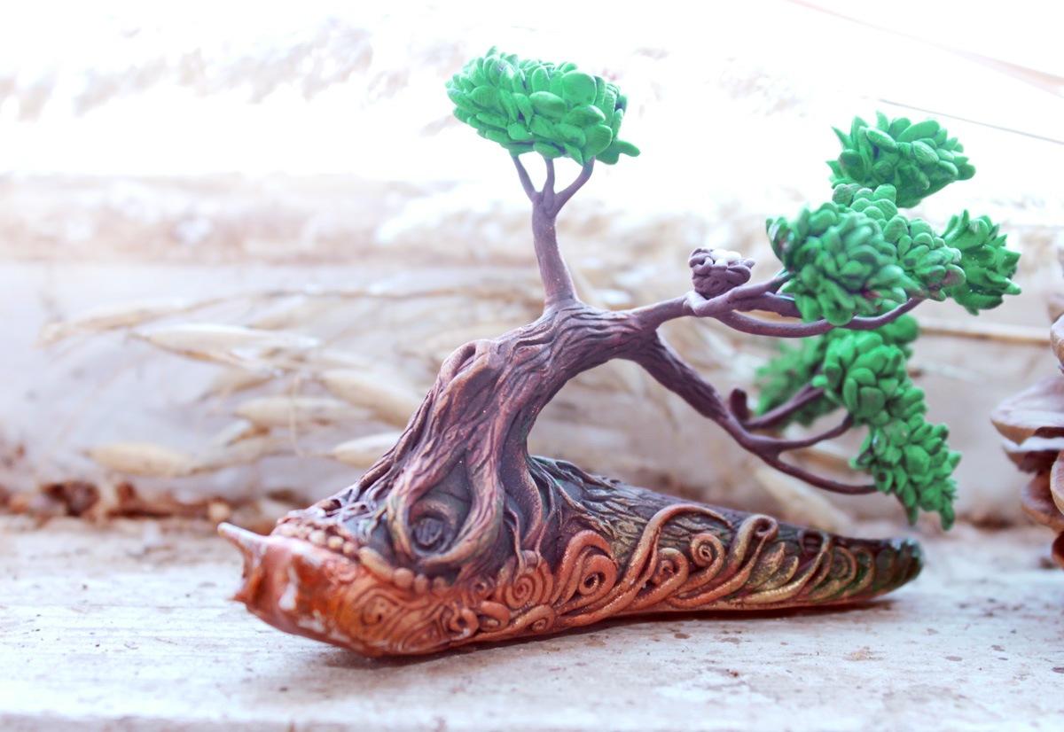 Slug forest spirit by hontor