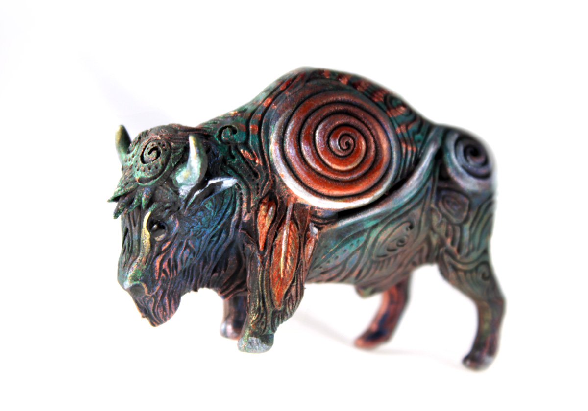 Black buffalo totem by hontor
