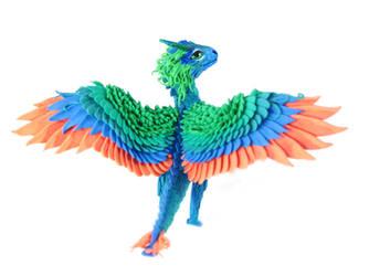 Rainbow Dragon Erhal by hontor