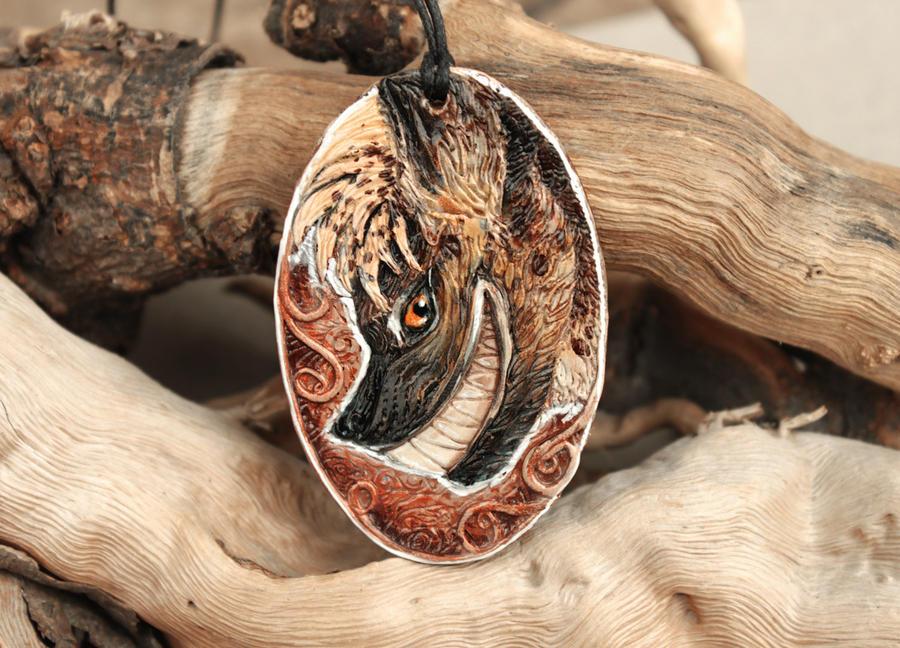 Hyena Pendant by hontor