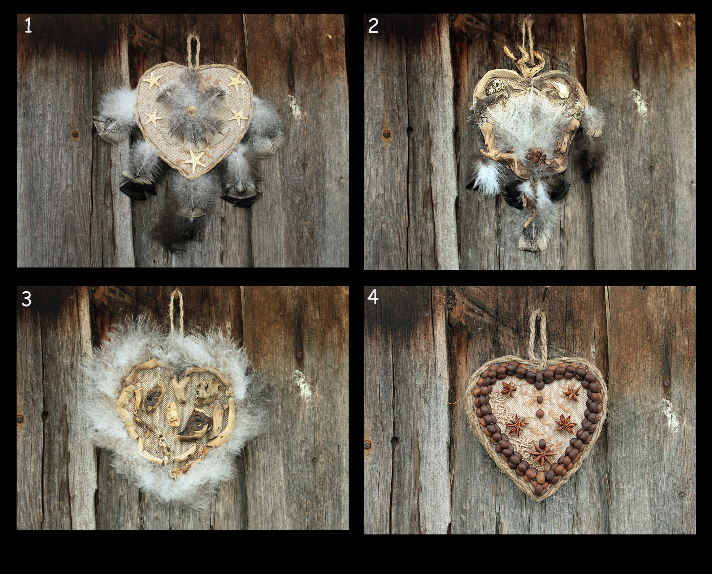 Home decor hearts by hontor