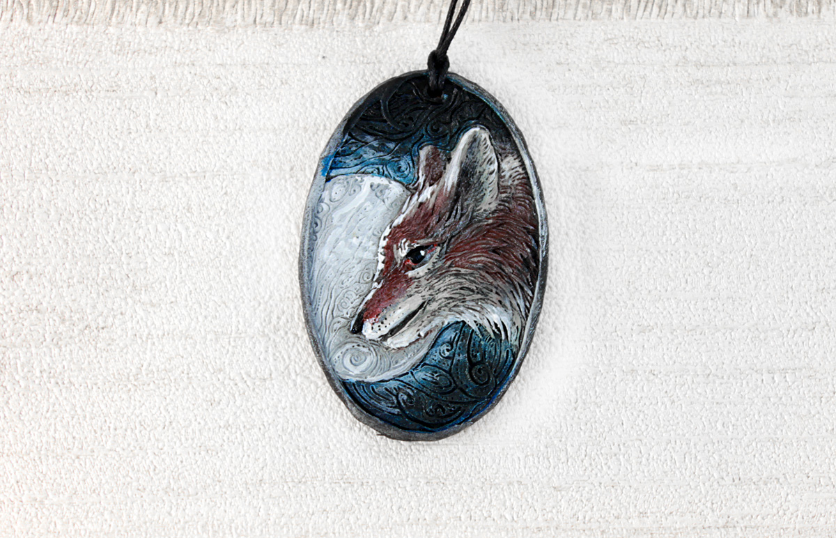 Coyote Pendant by hontor