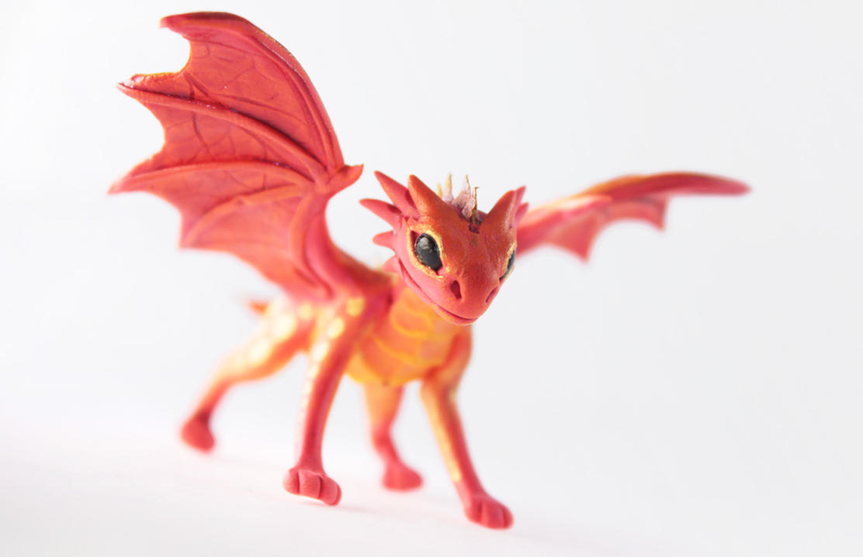 Little fire dragon Shultz by hontor