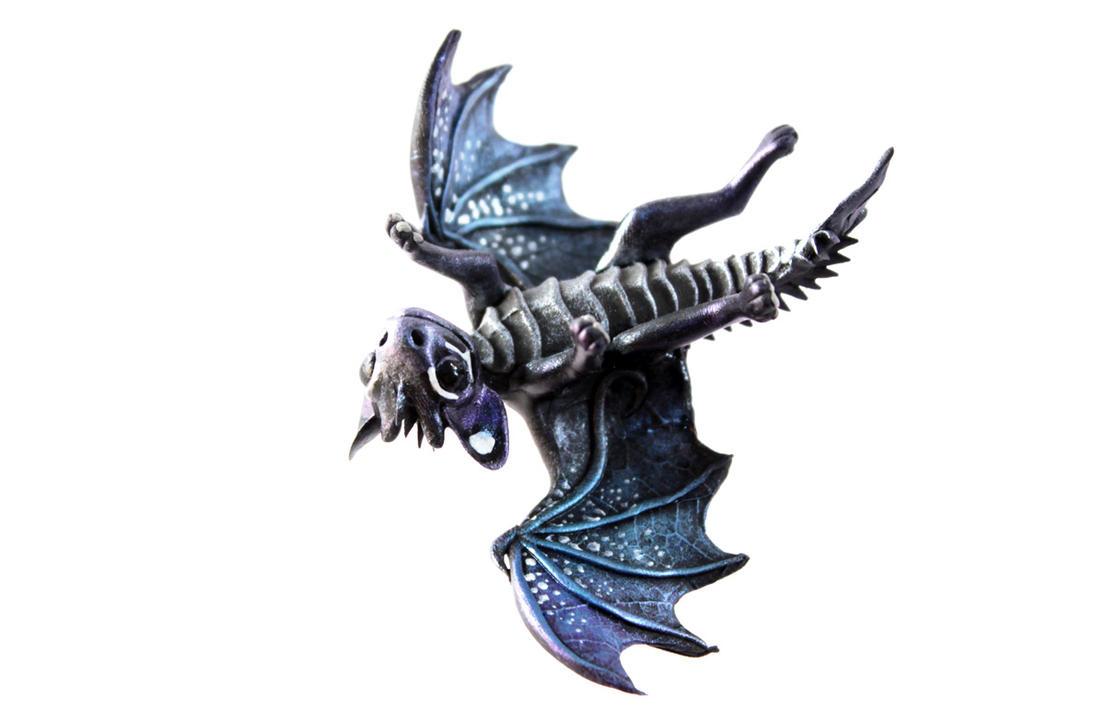 Little Night dragon Baty by hontor