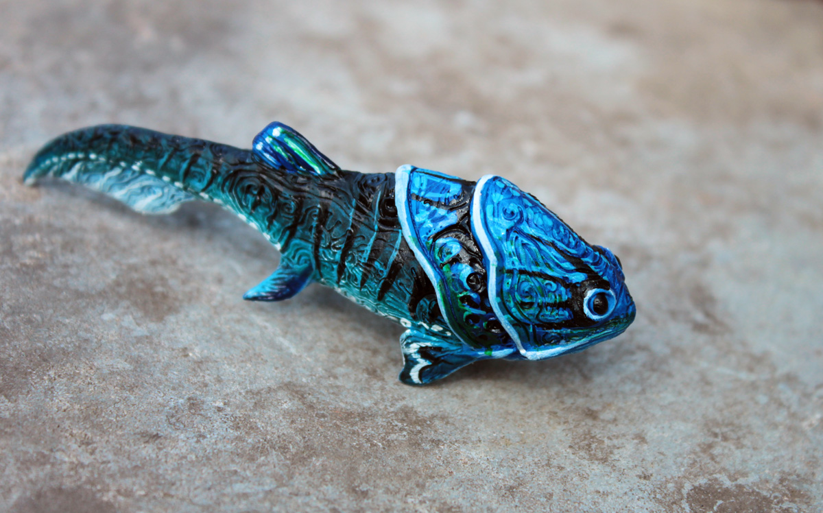 Armoured Prehistoric Fish By Hontor On Deviantart