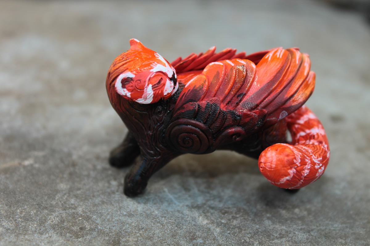 Red panda totem by hontor