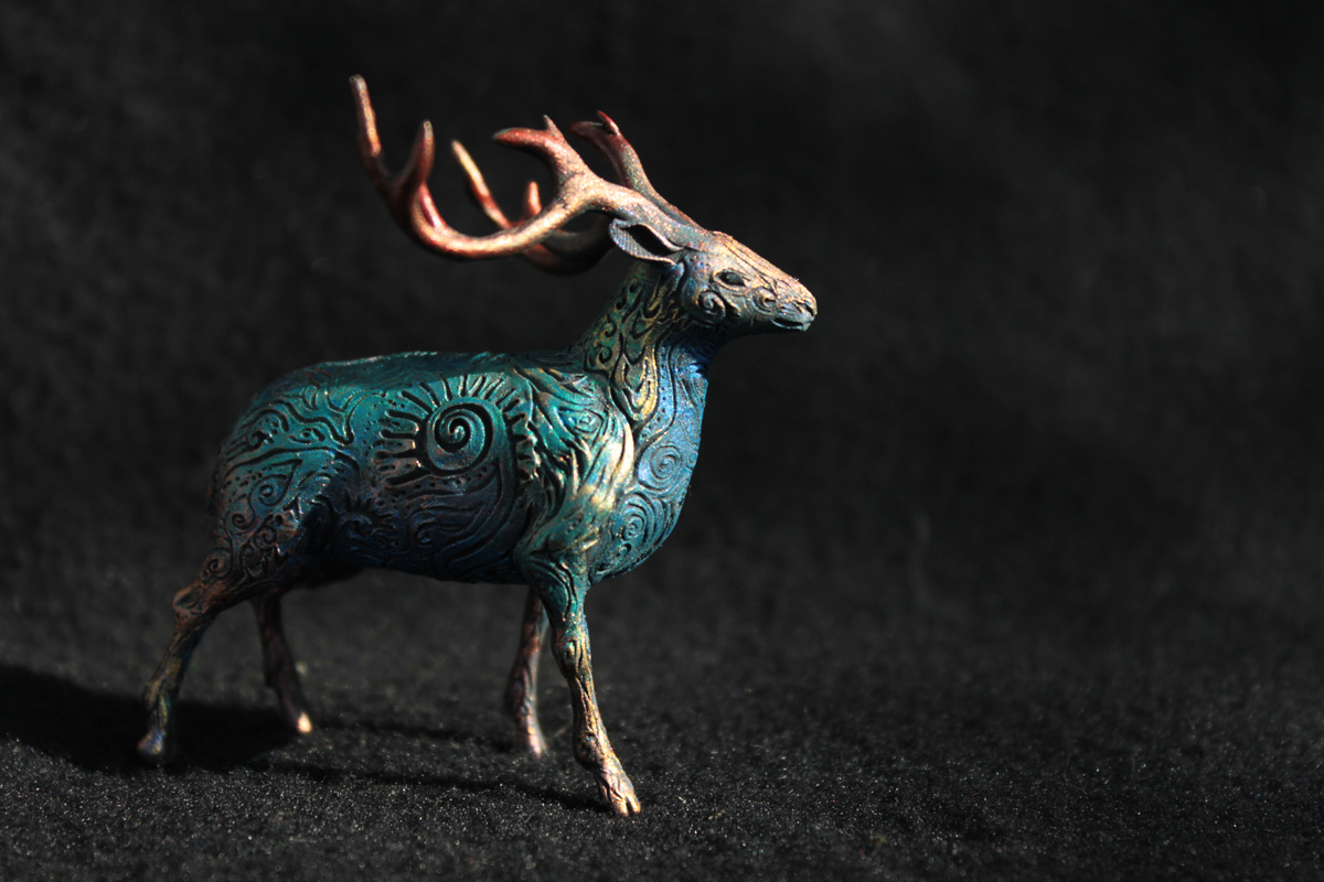 Deer totem by hontor