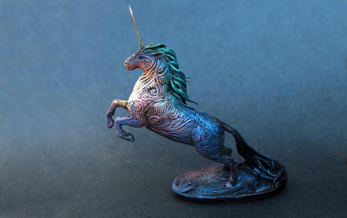 Black Unicorn by hontor