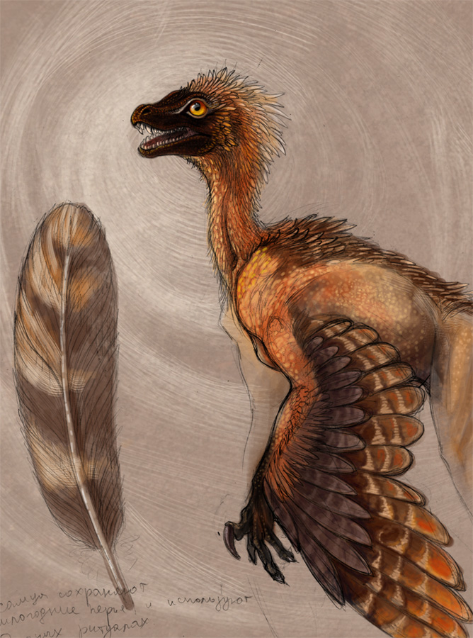 Esvarra's raptor sketch by hontor
