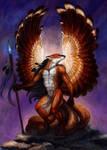 Kitsune warrior by hontor