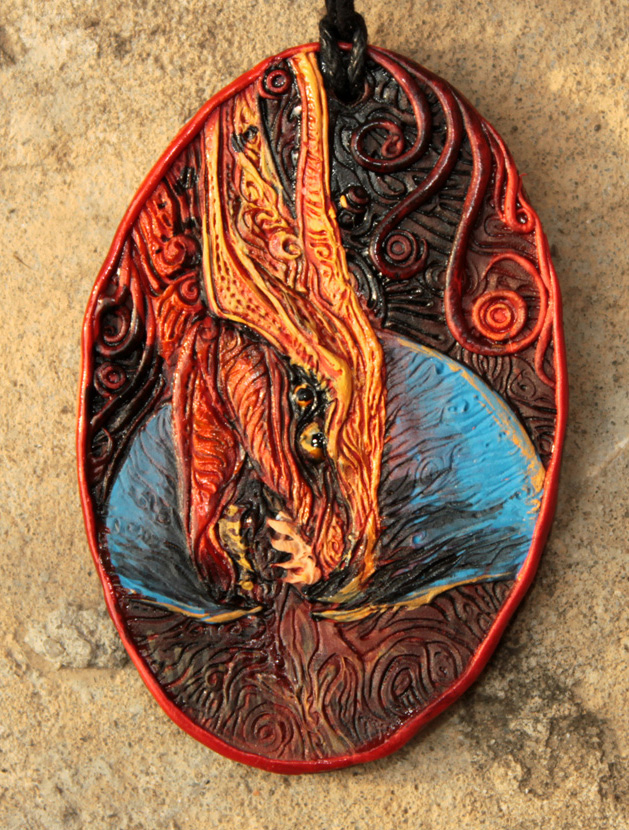Toruk pendant by hontor