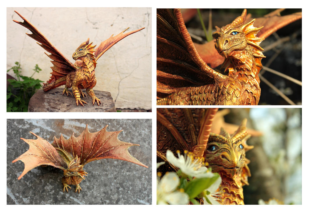 Golden dragon Ovid detali by hontor