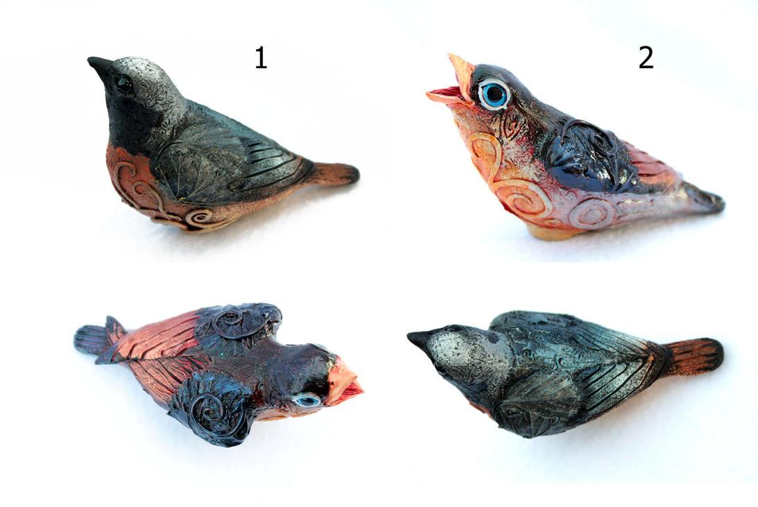 Birds by hontor