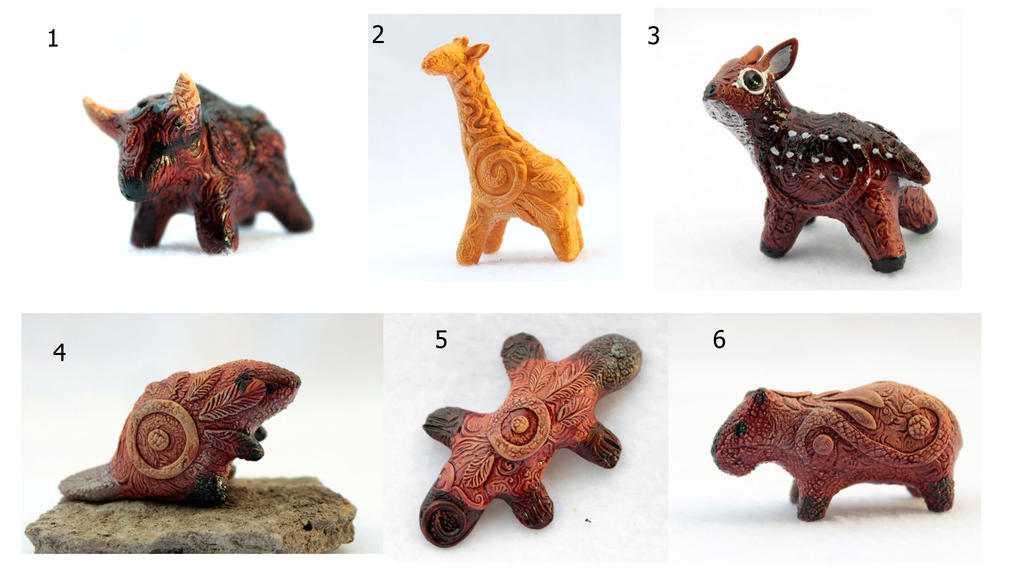 Totem miniatures II by hontor