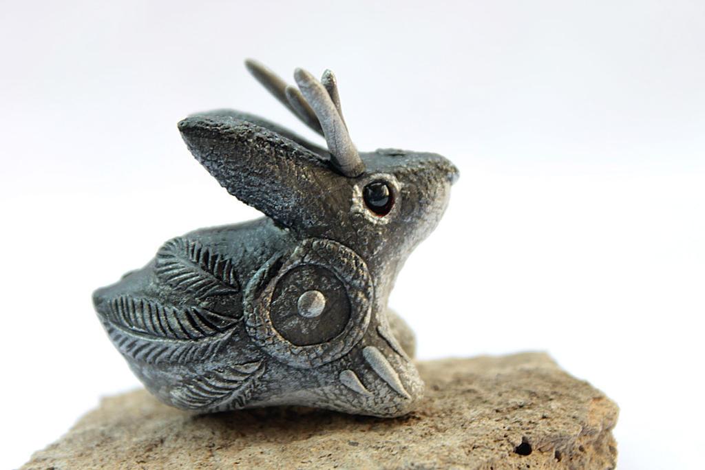 Little jackalope totem by hontor