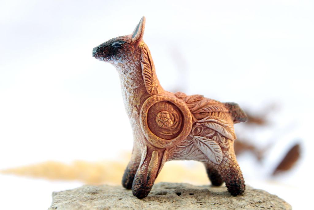 Llama Totem by hontor