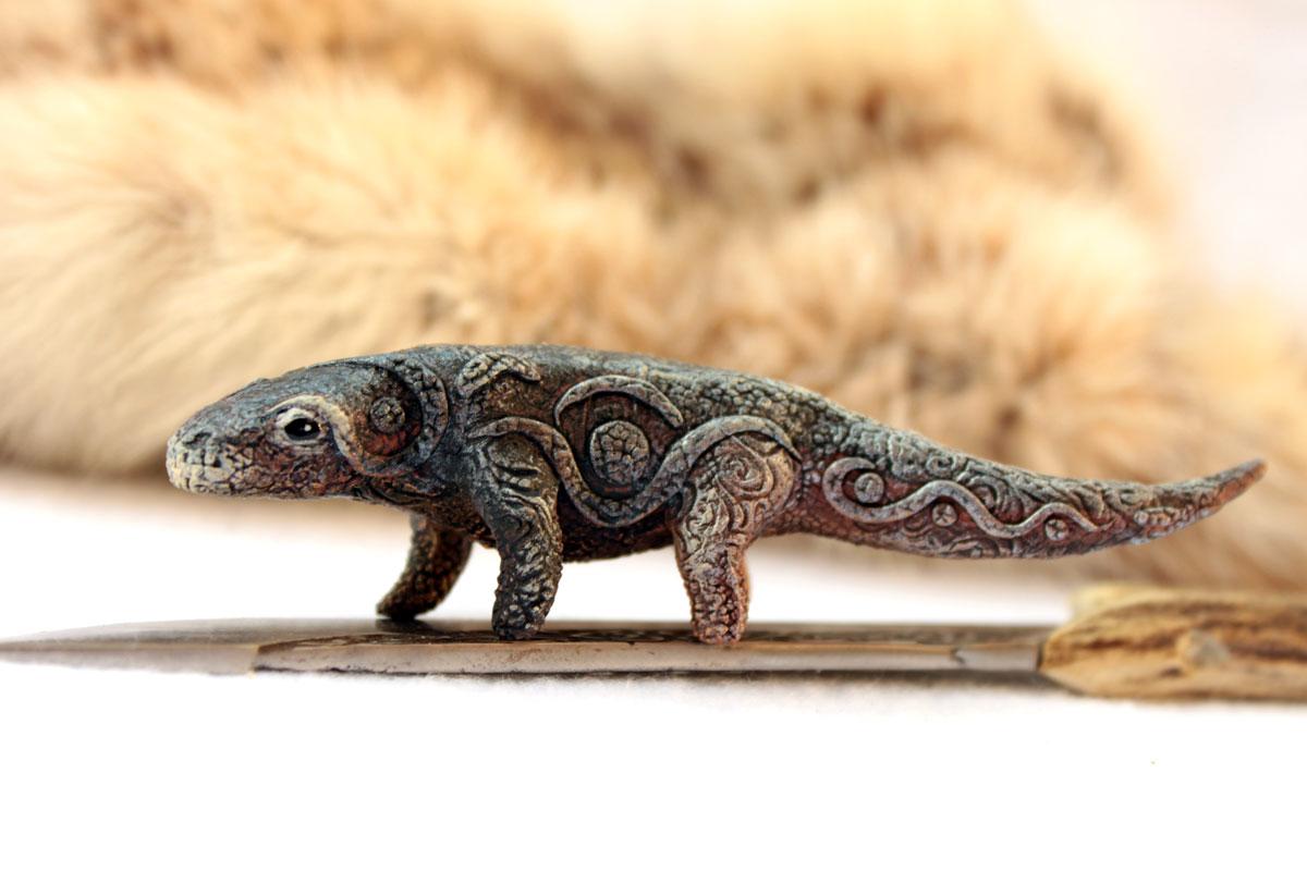 Komodo dragon totem by hontor