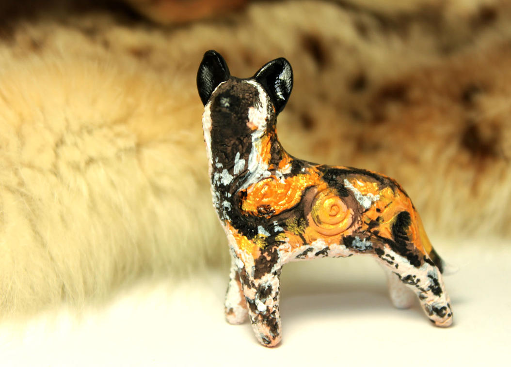 African wild dog totem by hontor