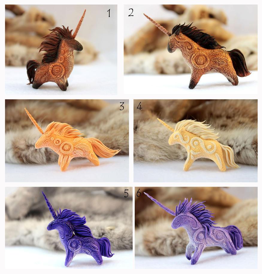 Unicorns by hontor